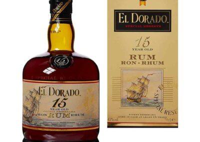 I migliori Rum - El Dorado 15 anni - Rum prestigiosi - Tipologie Rum El Dorado 15 anni